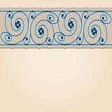 Vector art nouveau card. Vector art nouveau invitation card with space for text Stock Images