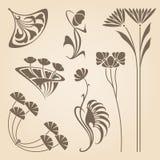 Vector Art Nouveau Elements. Stock Images
