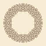 Vector art nouveau frame. Vector art deco frame with space for text Royalty Free Stock Photo