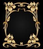 Vector art nouveau ornament. Stock Photos