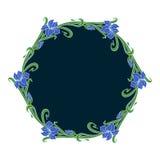 Vector art nouveau ornament. Stock Image