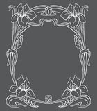Vector art nouveau ornament. Royalty Free Stock Photos
