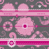 Vector Art Pattern Background Fancy Pattern Royalty Free Stock Photo