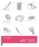 Vector Art tool icon set Stock Photos