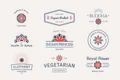 Vector asian logo templates Stock Photo