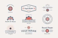 Vector asian logo templates Stock Photo