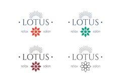Vector asian logo templates Stock Photography