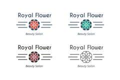 Vector asian logo templates Royalty Free Stock Photos