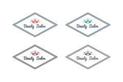 Vector asian logo templates Stock Image