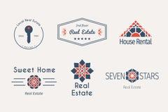Vector asian logo templates Stock Images