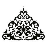 Vector Asian style ornament. Royalty Free Stock Photos