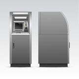Vector ATM Bank Cash Machine Isolated Royalty Free Stock Image