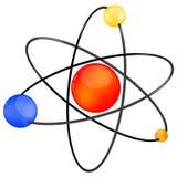 Vector atom icon Royalty Free Stock Photos