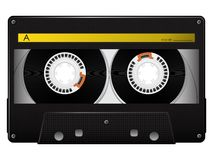 Vector audio cassette Stock Images
