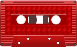 Vector audio cassettes eps8 Stock Photography