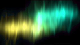 Vector aurora borealis northern lights Royalty Free Stock Image