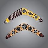 Vector australiano del bumerán stock de ilustración