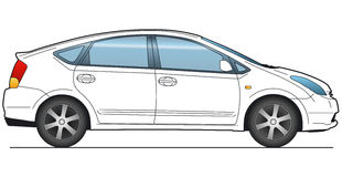 Vector Auto vector illustratie