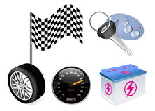 Vector auto icon Stock Photography
