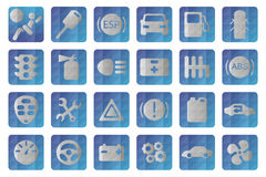 Vector auto icon. Automobile signs. Car icons set. Stock Photo