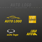 Vector auto logo design. Stock Photography