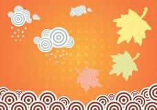 Vector autumn illustration Royalty Free Stock Image