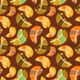 Vector autumn seamless pattern Stock Photo
