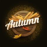 Vector Autumn Signboard libre illustration