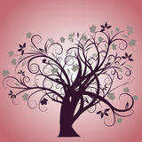 Vector autumn tree design. Beautiful vector autumn tree design Royalty Free Stock Images