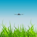 Vector Aviation. A   illustration transportation   Aviation Royalty Free Stock Image