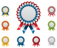 Vector award badges set Stock Photos