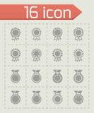 Vector Award medal icon set Stock Photography