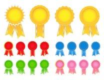 Vector Award Ribbons Royalty Free Stock Photo