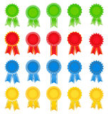 Vector Award Ribbons Royalty Free Stock Photography