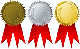 Free Vector Award Ribbons Stock Image - 5754711