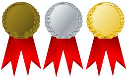 Vector  award ribbons Stock Photo