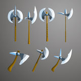 Vector axes set. Royalty Free Stock Image