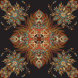 Vector aztec geometric seamless pattern. Background with a Latin American ornament Royalty Free Stock Photography