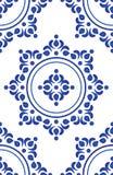 Vector azul del modelo de la teja stock de ilustración