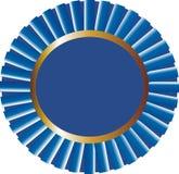 Vector azul del precio de la cinta Imagen de archivo
