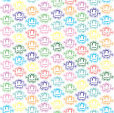 Vector baby background Royalty Free Stock Photo
