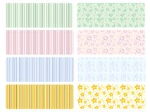 vector baby backgrounds Royalty Free Stock Photo