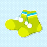 Vector Baby Shower Card Stock Images