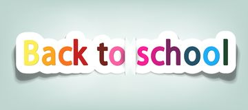 Vector back to school Royalty Free Stock Photography