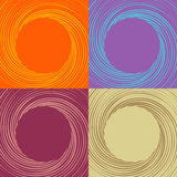 Vector backdrop of swirl Royalty Free Stock Photography