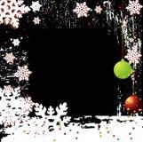 Vector Backgr del invierno de la Navidad Imágenes de archivo libres de regalías