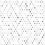 Vector backgrond lines. And triangles Vector Illustration Stock Photos