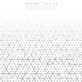 Vector backgrond lines. And triangles Vector Illustration Stock Photography