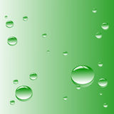 Vector background. Illustration representing drops of water Stock Image