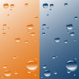 Vector background. Illustration representing drops of water Royalty Free Stock Image